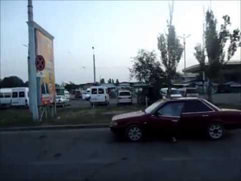 Summer Drive Around Bishkek, Kyrgyzstan, Бишкек