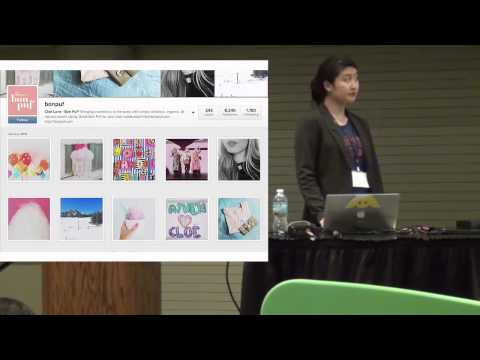 [Market NY Expo] Christine Cha of Wix on Social Content Marketing