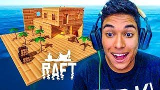 MELHORAMOS A CASA NO BARCO !! - Raft [#06]