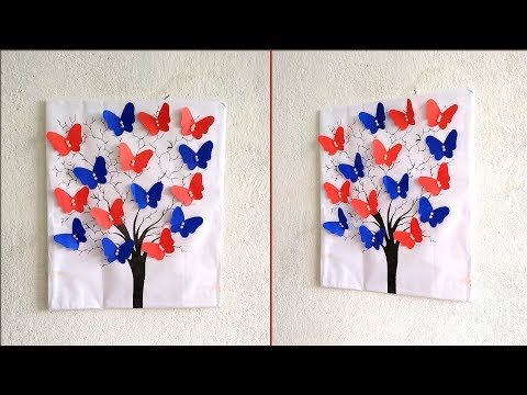 DIY paper crafts ideas   How to decorate your room easily   Easy wall decoration ideas