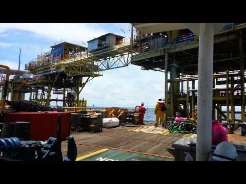 Offshore Baronia Alpha Platform