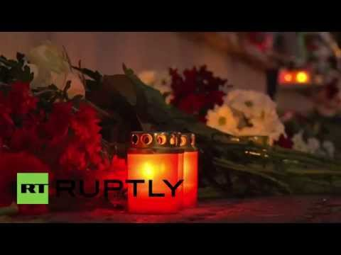 Latvia: Riga mourns the victims of Paris attacks at French Embassy