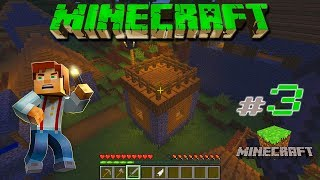 Minecraft - #3 - Как создать печь, уголь, факел и дом