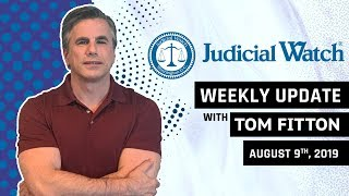 Judicial Watch Gets Ohr 302s, FBI Leaks Scandal EXPOSED, & JW Takes on Anti-Trump CA Law