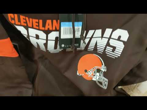 2019 Nike Therma NFL Cleveland Browns Men's On Field Hoodie USA Unboxing