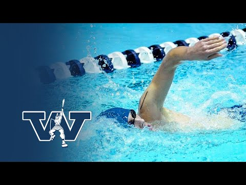Swimming & Diving: May Breaks His Own School Record; Titans Sweep W&J at Home (Highlights)