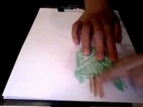 A great art activity for kids-Paper Impressions