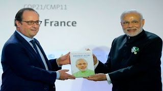 "COP21 - France, India to form ""a global alliance to power planet with solar energy"""