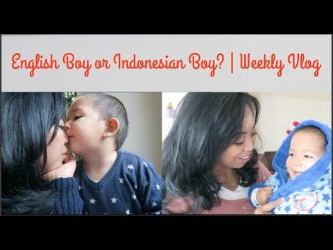 English boy or Indonesian Boy? | Weekly Vlog