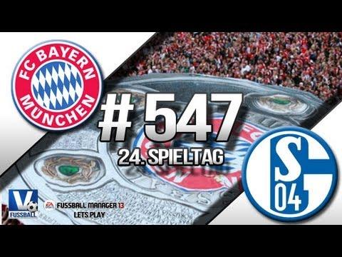 Fussball Manager 13 Lets Play - #547 - 24. Spieltag FC Schalke 04    ᴴᴰ