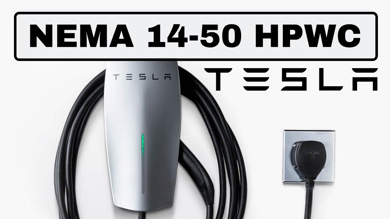 Tesla Releases Their Nema 14 50 Hpwc Finally Youtube