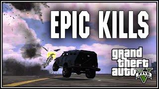 GTA 5 Epic Kills and Moments