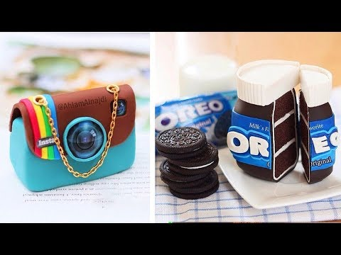 Easy And Delicious Cake Decorating Ideas | So Yummy Cake Decorating Compilation