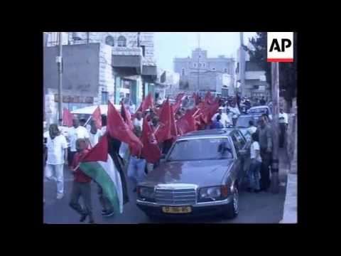 PFLP demonstraion in Nablus and protest in Bethlehem