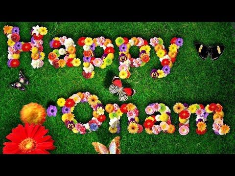 Happy  Onam. Onam New Videos. Onam Animation Videos. Onam Greetings 2017