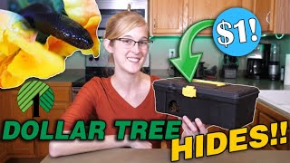 How to Make $1 Snake Hides from the Dollar Tree!