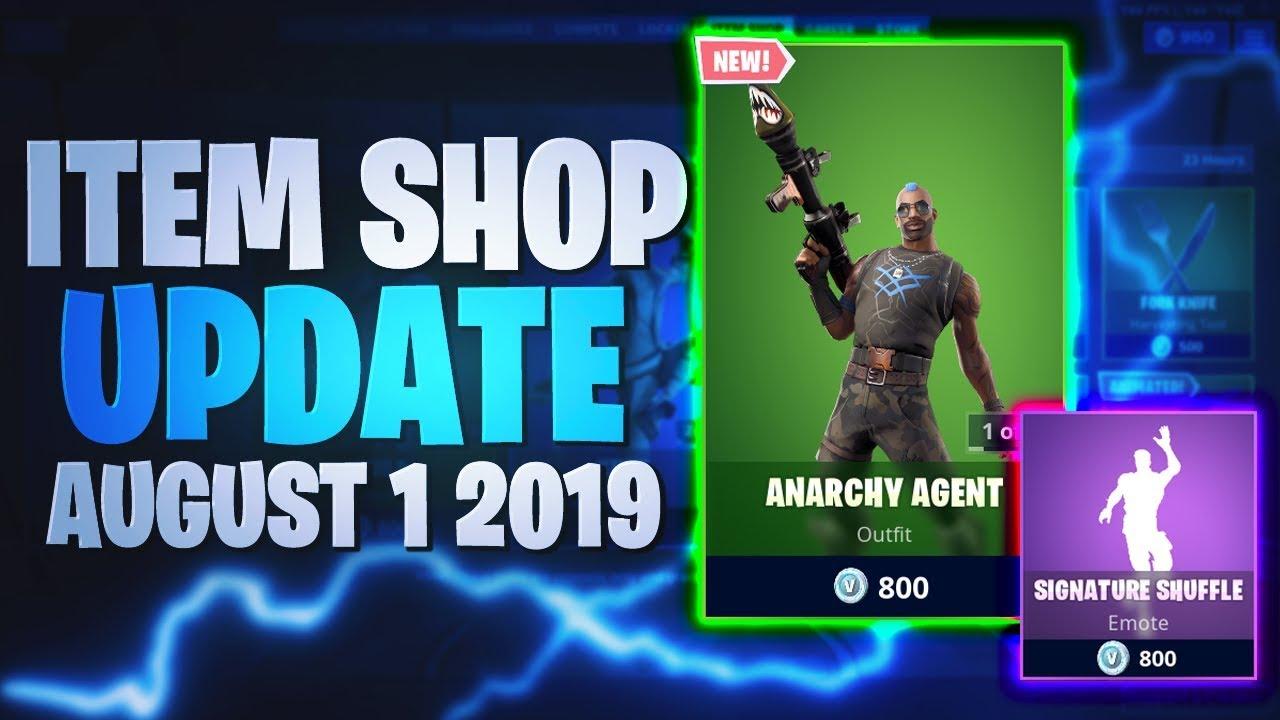 Fortnite Item Shop August 1 2019 Fortnite Item Shop Today 01 08 2019 1st August 2019 Fortnite Battle Royale Youtube