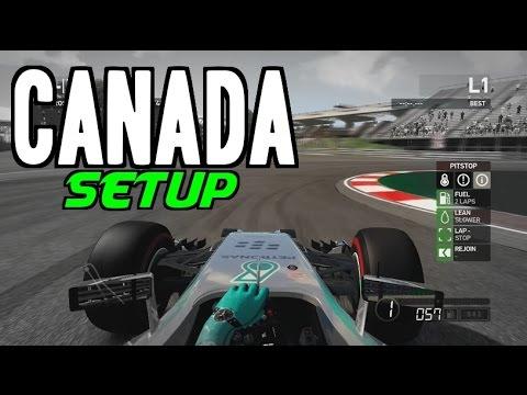 F1 2014 Canada Hotlap + Setup