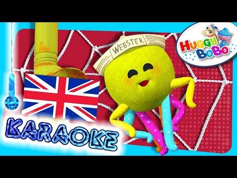 Incy Wincy Spider | Sing Along Karaoke | Nursery Rhymes | By HuggyBoBo