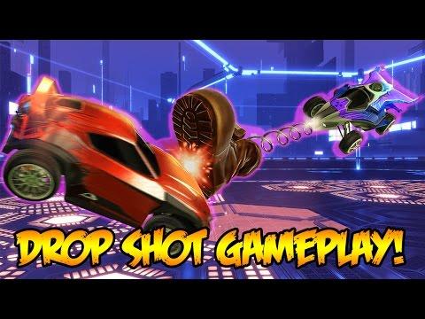 ROCKET LEAGUE - NEW DROP SHOT GAME MODE UPDATE!!! (Rocket League Dropshot Gameplay)