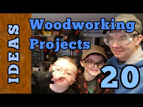 20 Woodworking Project Ideas