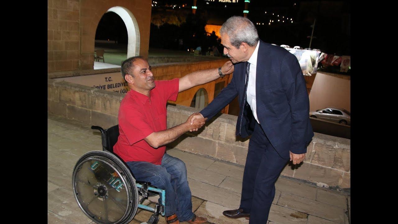 Başkan Demirkol Engelli Kardeşlerimizin Her Zaman Yanındayız