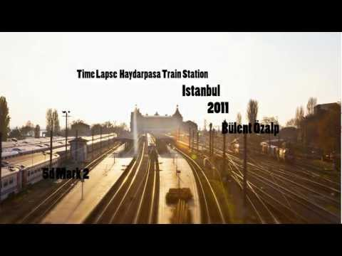 Haydarpasa Train Station/Seaport/Terminal Time Lapse(Istanbul/Turkey)(Video By Bülent Özalp)