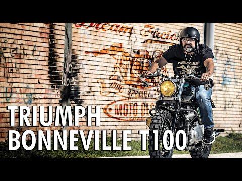 TRIUMPH BONNEVILLE T100 equipaggiata SPECIAL PARTS MDC | MOTO DESIGN CUSTOMS 🇮🇹