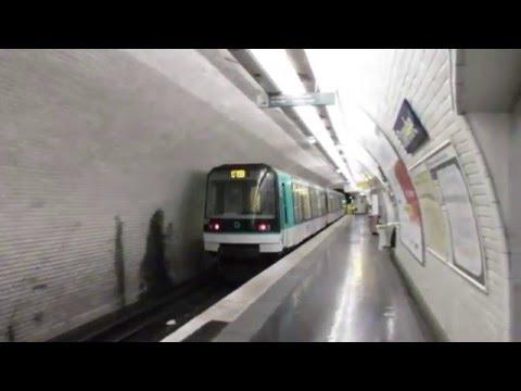 Paris Métro ligne 7bis - MF 88 - Danube