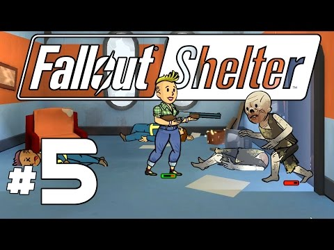 Fallout Shelter PC - Ep. 5 - Deadly Ghouls! - Lets Play Fallout Shelter PC Gameplay