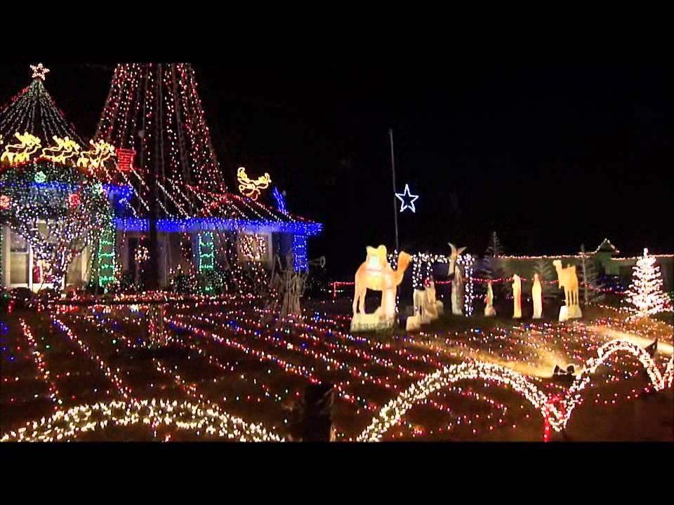 Ludy Christmas lights - YouTube