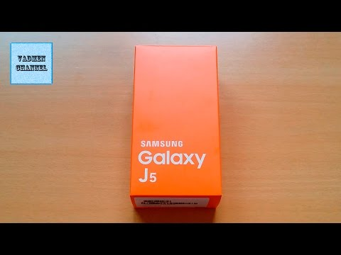 """Samsung Galaxy J5 (SM J500FN) Unboxing & review Smartphone 5"""" Samsung Galaxy J5-Colour White"""