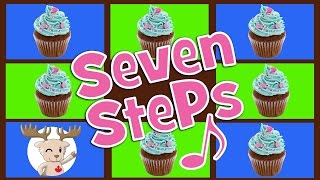 seven steps song simple counting song for kids