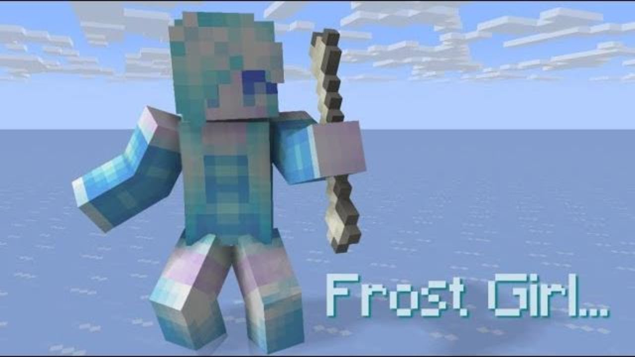 The Story Of Frost Girl - Minecraft