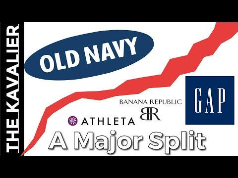 Gap Spinning Off Old Navy - Changes Coming To Banana Republic And Other Retail Brands
