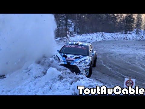 WRC Rallye Monte Carlo 2016 - Crash & Mistakes by ToutAuCable [HD]