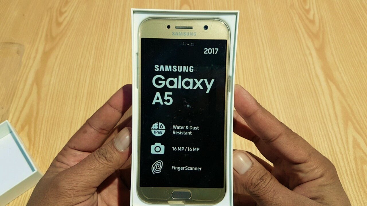 samsung galaxy a5 2017 unboxing urdu hindi youtube. Black Bedroom Furniture Sets. Home Design Ideas