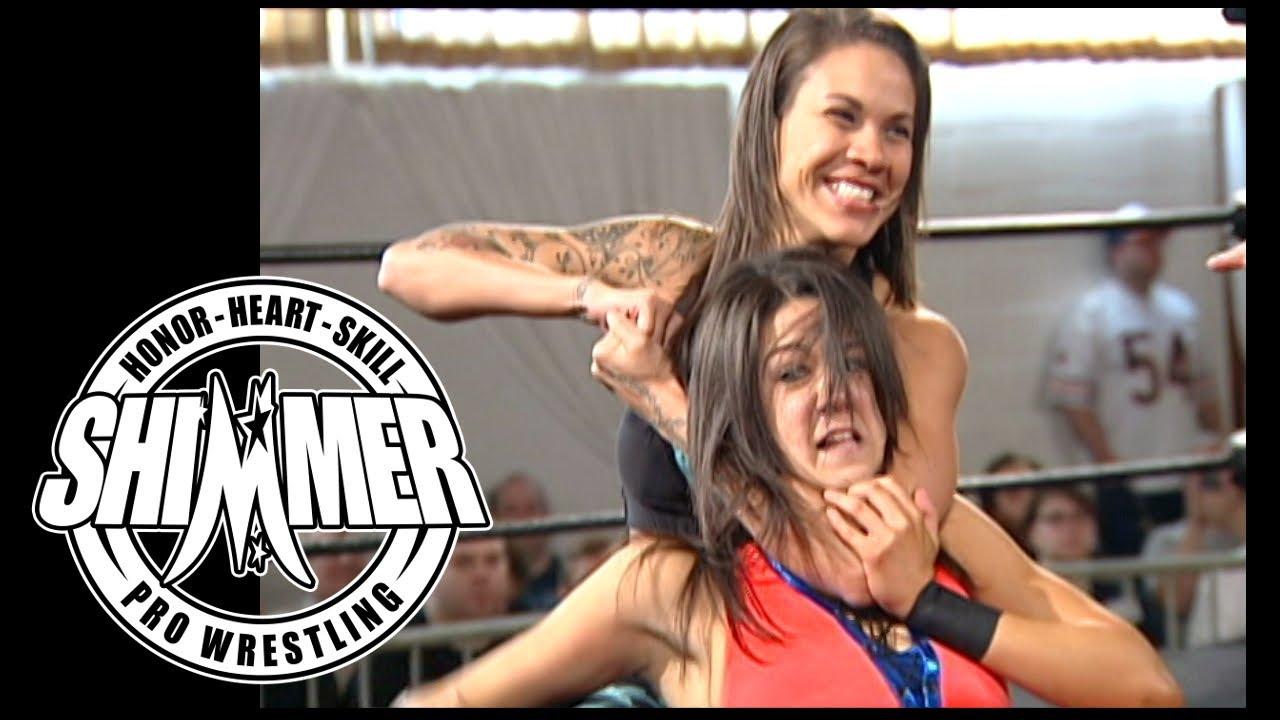 SHIMMER Women's Wrestling - Davina Rose (Bayley) vs. Mercedes Martinez - SHIMMER 41 on Oct. 1, 2011