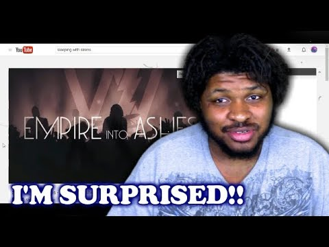 REACTION VIDEO #17 REACTING TO Sleeping With Sirens - Empire To Ashes (Official Lyric Video)