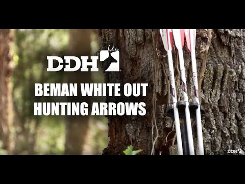 Easy Tracking With Beman White Out Hunting Arrows   Innovation Zone @deerhuntingmag