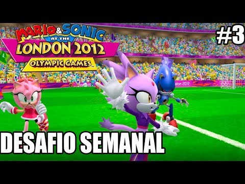Mario & Sonic at 2012 London Olympic Games - Wii - DESAFIO SEMANAL - parte 3