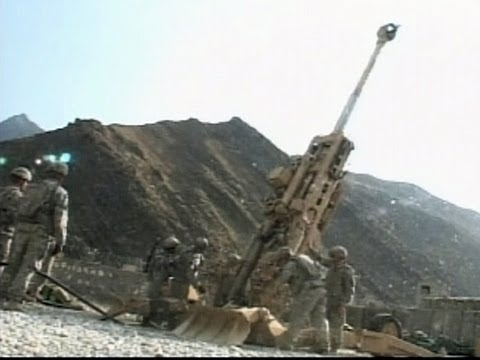 Field Artillery Protects FOB Blessing - Afghanistan