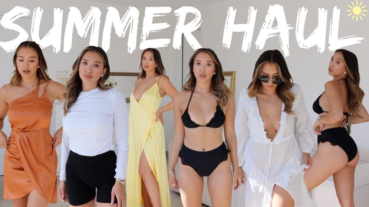 Klassischer Sommer Try On Haul (Bikinis, Kleider, Accessoires) -Adorable Caro