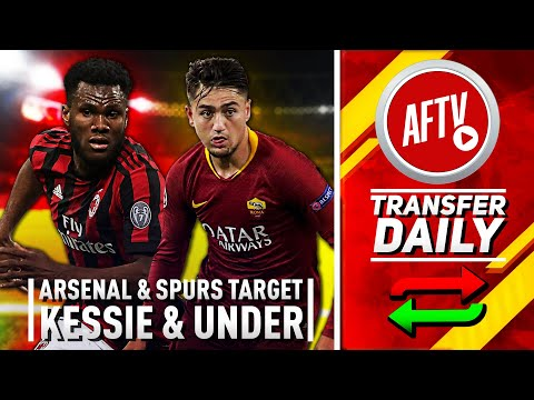 Arsenal vs Spurs For Top Midfield Targets Kessié & Ünder ! | AFTV Transfer Daily