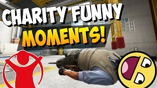 cs go charity event 2016 funny moments fails highlights