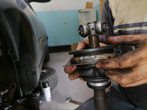 ШРУС, ПЫЛЬНИК - ремонт приводного вала.Renault Laguna 1