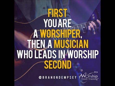 "Show #106 ""Worship Before You Lead"" (Take Five) Worship Team Training 🙌🎸"