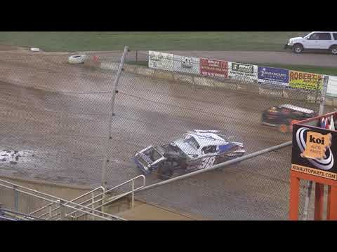7 7 18 OH CRAP! Moment of the Night Lawrenceburg Speedway