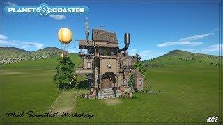 Let's Build #6 - Mad Scientest Workshop (Planet Coaster)