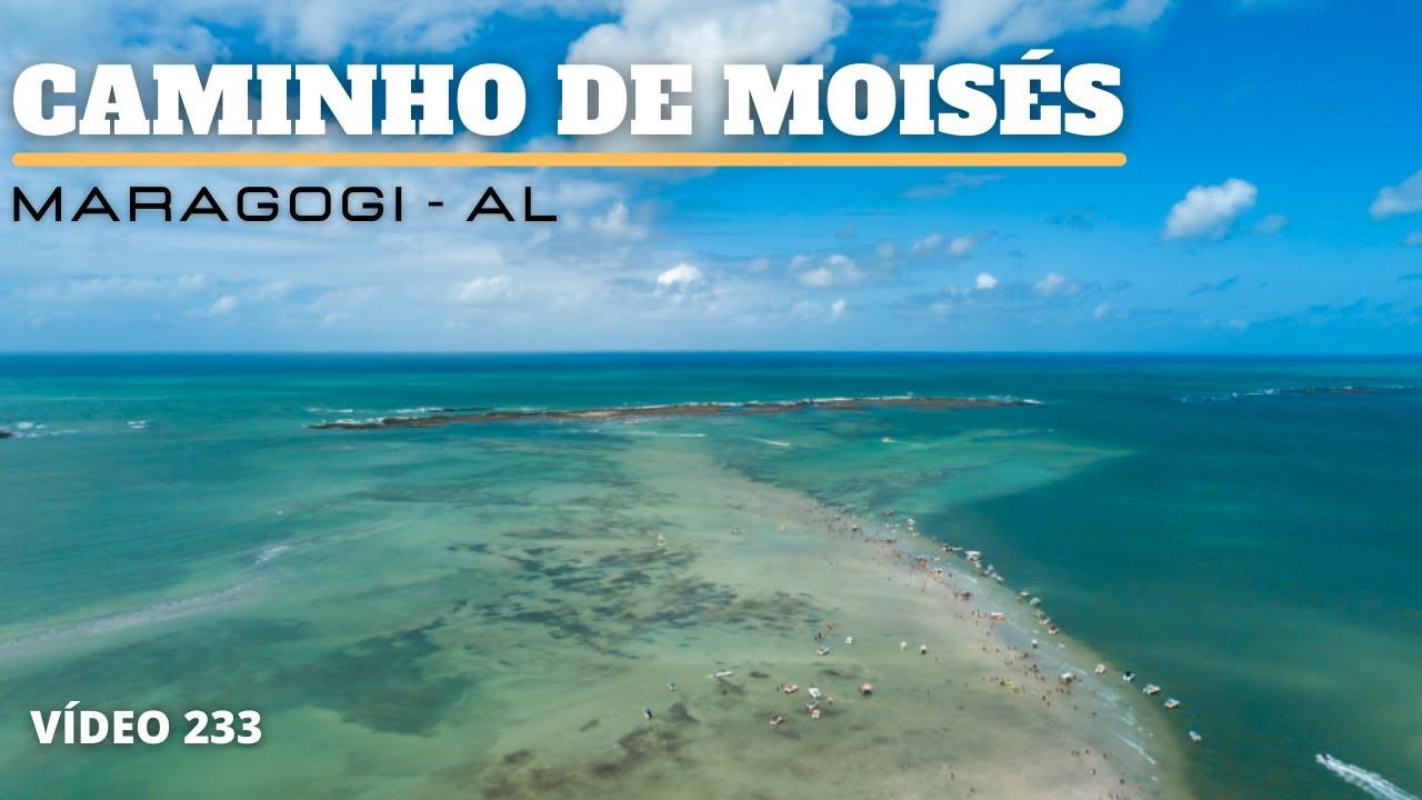 O INCRÍVEL CAMINHO DE MOISÉS EM MARAGOGI - VÍDEO 233